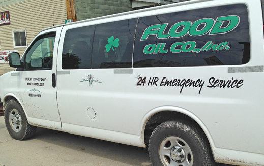 Flood Oil Company 24 Hour Emergency Service